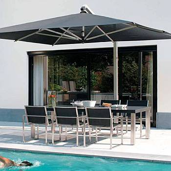 Giant 10x13ft Rectangle Sidepost Umbrella