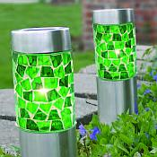 Solar Mosaic Path Light with Stake