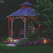 Solar Powered LED String Lights - 50 LEDs