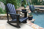 Pair of Adirondack Rocking Chairs