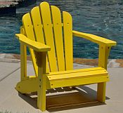 Pair of Child Adirondack Chairs