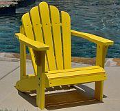 Pair of Child Adirondack Chairs