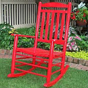 Slat Back Rocking Chair