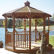 Classic Cedar Gazebo Kit 9ft 9in