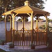 Classic Cedar Gazebo Kit 14ft 5in