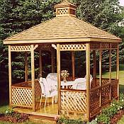 Hot Tub & Spa Gazebo Enclosure - 11ft
