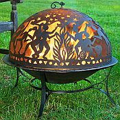 Full Moon Party Fire Pit Dome Set