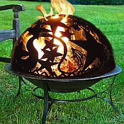 Orion Fire Pit and Dome Set