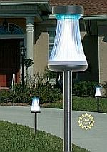 Contemporary Solar Path Accent Light