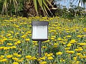 Square Solar  Accent Path Light