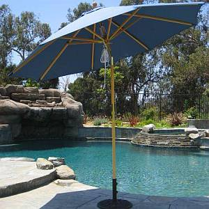 Replacement 9ft Umbrella Rib Assembly - Wood