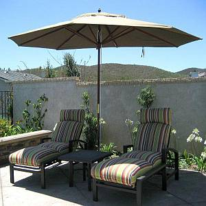 Replacement 8ft x 11ft Umbrella Rib - Wood