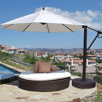 11 Ft Round Cantilever Umbrella