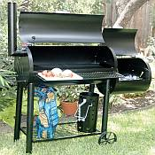 Medina River Backyard Bar B Q Smoker