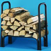 Small Conduit Style Outdoor Firewood Rack