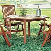 Milano Outdoor Round Dining Table