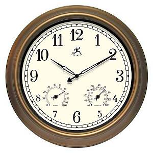 Craftsman Metal Outdoor Clock