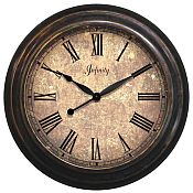 Lothario Metal Outdoor Clock