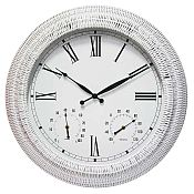 Boca Rattan Outdoor Clock