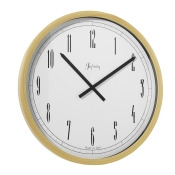 Italian Beech Wood Outdoor Wall Clock / Arabic Numbers