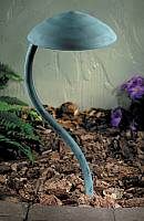 Scallop Path Light - Verda Patina - AL405V