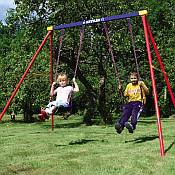 Kettler Deluxe Double Swing Set