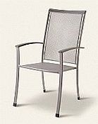 Balero Wrought Iron High Back Chair By Kettler