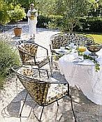 Elegance Wrought Iron Patio Furniture