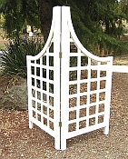 Garden Trellis Corner Screen