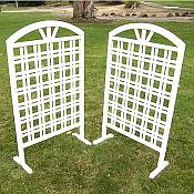 Garden Hurdle Trellis Set