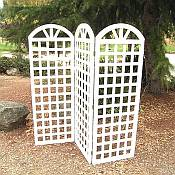 Garden Trellis Three Panel Wood Trellis