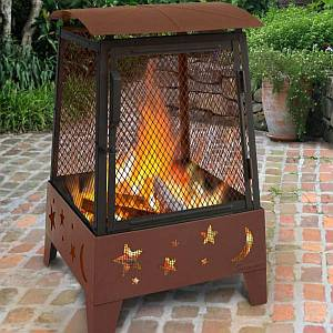Haywood Stars and Moons Fire Pit