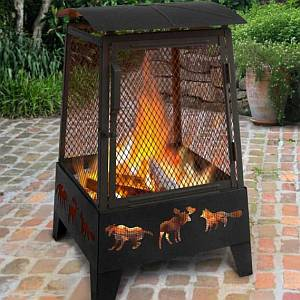 Haywood Wildlife Fire Pit