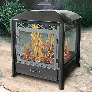 Aspen Outdoor Fireplace