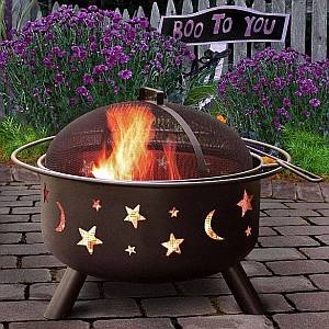 Firepit - Stars and Moons