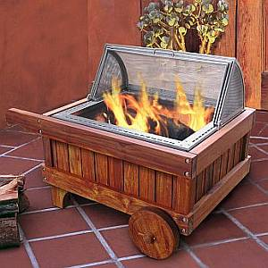 California Campfire Outdoor Firepit