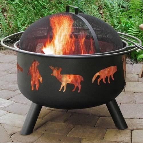 Firepit - Wildlife Motif