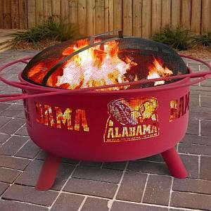 Bama Fire Pit - Collegiate Fire Pit