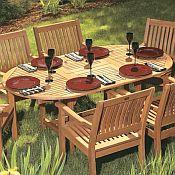 Gala Dining Table<br>Hardwood