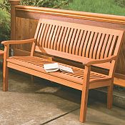 Serenity 4ft Garden Bench<br>Hardwood