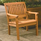 Serenity Armchair<br>Hardwood