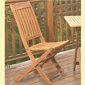 Spontaneity Folding Chair (Pair)<br>Hardwood