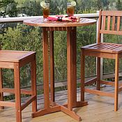 Terrace Table<br>Hardwood