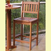 Terrace Chair<br>Hardwood