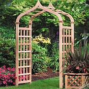 Garden Arbors Enhance Gardens and Yards