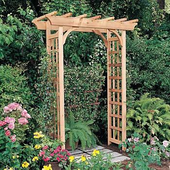 Garden Arbor - Rosedale