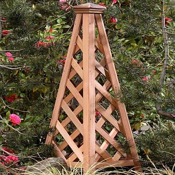 Copper Top Pyramid Trellis