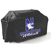 College Football Logo Grill Covers - Northwestern University
