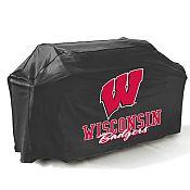College Football Logo Grill Covers - University of Wisconsin