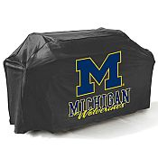 College Football Logo Grill Covers - University of Michigan